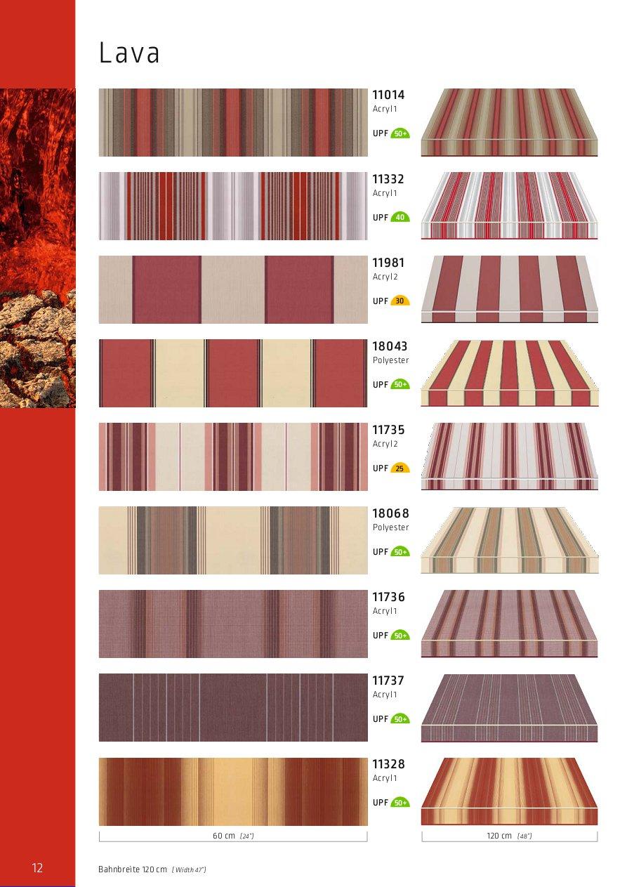 Lewens Farben und Stoffe LAVA