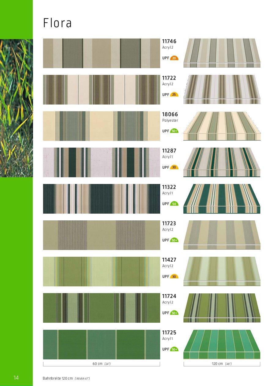 Lewens Farben und Stoffe FLORA