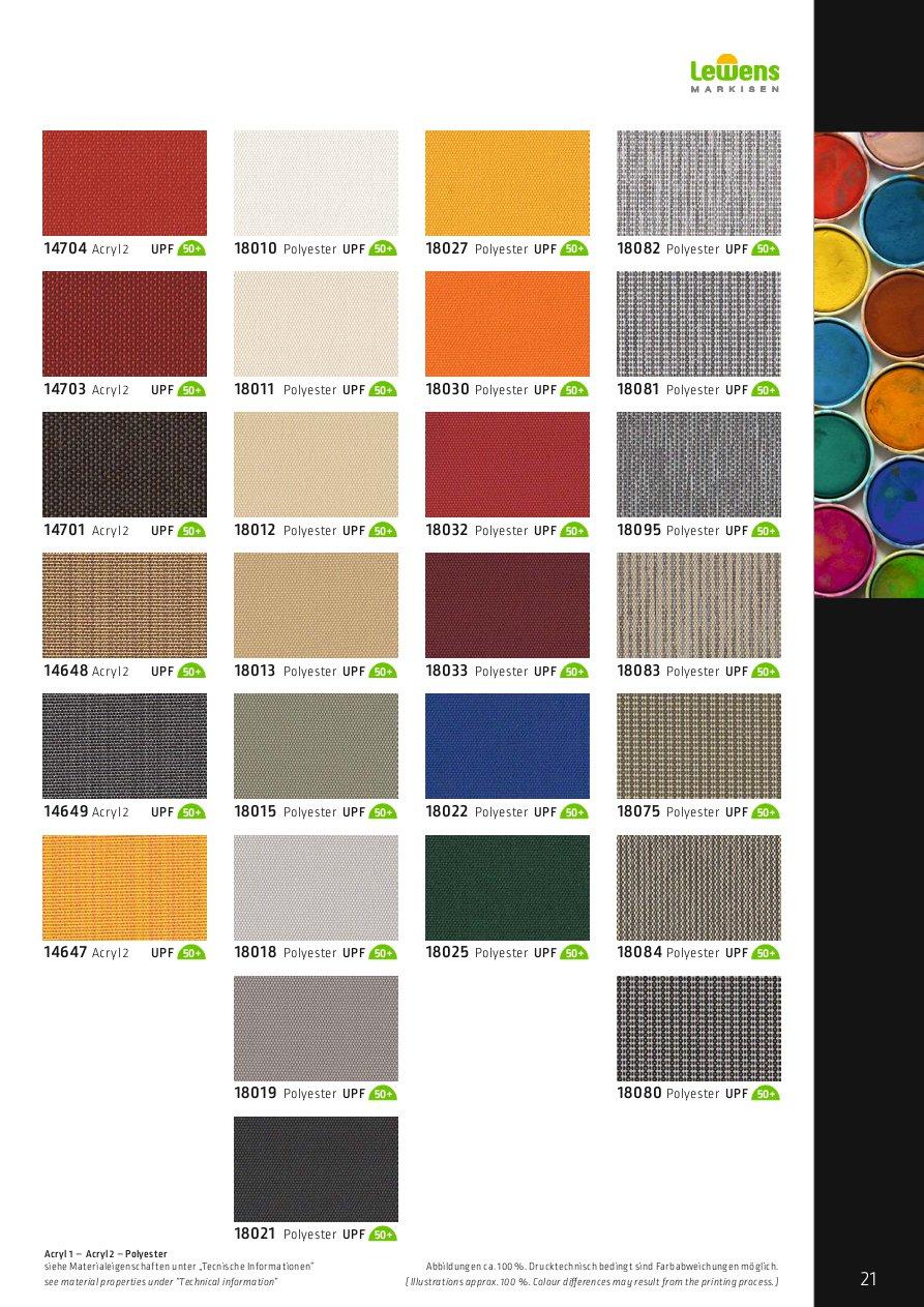 Lewens Farben und Stoffe UNI