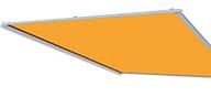 Lewens Ancona unterglas aufglas Markise