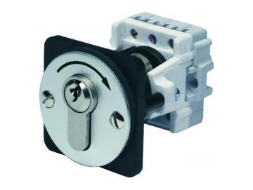 WTS - Einbau/Fronttafel - Schlüsseltastermit 1 Tast-Kontakt, 1-polig IMPULS für den Fronttafeleinbau