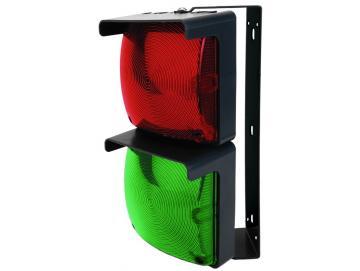 WTS - LED-Doppel-Ampel-Set ROT/GRÜN mit LED-Platine und Montagebügel