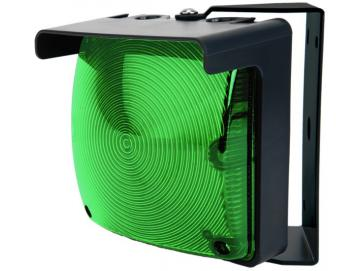 WTS - Einzel-Ampel-Set (QUADRA-LUX) GRÜN mit LED-Platine und Montagebügel