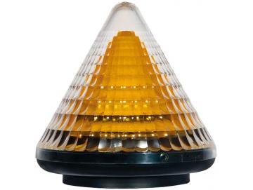 WTS - LED-Blinkleuchte gelb (LACO-LED) mit 16 LED´s, 24V oder 230V, Blinklicht oder Dauerlicht