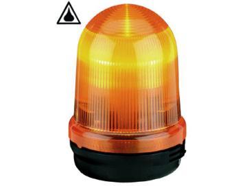 WTS - Blitzleuchte 230V, gelb ,Kunststoffgehäuse, wassergeschützt - Schutzart IP 65