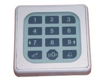 WTS - Tastatur mit Folien-Tastenfeld (Tastaturen nur geeignet für Code-Schlösser Serie Cody!)