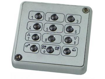 WTS - Cody-MT Tastatur mit Metall-Tastenfeld (vandalismusgeschützt)