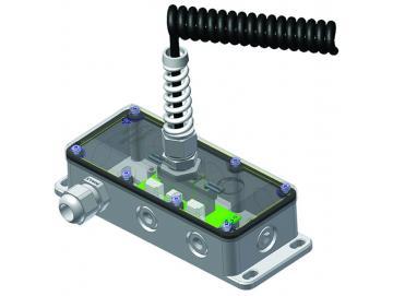 Rolltor-Anschlussdose AD-4 Die Große - vielseitige Anschlussdose mit Leiterplatine