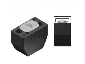 WTS - Modularer Auflaufstopper ASM1, 21 x 29mm (BxH), M8für Sektionaltore