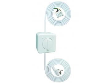 WTS - Einstell -Garnitur - Einstellhilfe Knebelschalter-Garnitur-Set(AP), Tast/Rast-Funktion IP44