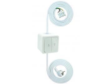 WTS - Einstell -Garnitur - Einstellhilfe Wipp-Schalter-Garnitur, mit Rast, Schalter IP 44