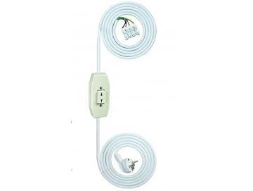 WTS - Einstell -Garnitur - Einstellhilfe(AP) Schnur-Schalter-Garnitur, Wippe mit Rast-Funktion