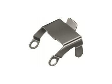 WTS - Hirschmann-Sicherungsbügel, Metall vernickelt Silber