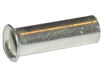 WTS - Aderendhülsen 1,0 mm², 8 mm Länge, Kupfer verzinnt