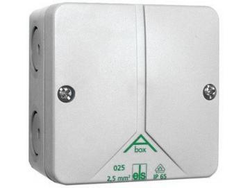 WTS - Abzweigkästen / Leergehäuse (ABOX) 80 x 80 x 52 mm, Wassergeschützt, IP 65