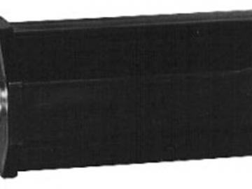 Mini-Walzenkapsel SW40 8 kant 80 mm lang, mit 10 mm Stahlzapfen