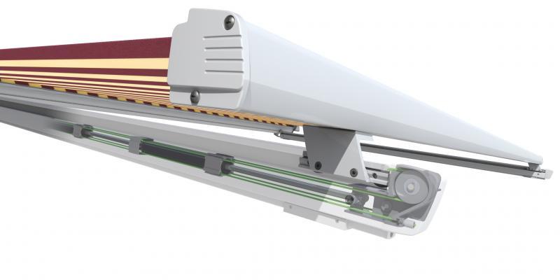 Lewens CAPRI Aufdachmarkise,oder als PERGOLA Markisekonfigurieren Mit Konfigurator