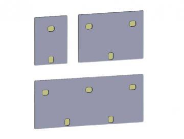 Dübelabdeckung-Thermax für Lewens Toscana Grande Markise Für Wand und Deckenkonsolen