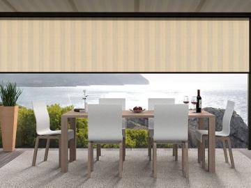 Vario Volant für Lewens Ancona Unterglas mit Behanghöhen 150cm und 200 cm erhältlich - Maßanfertigung