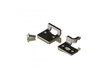 Montagehalter Unterglas - für Lewens Anconan Unterglasmarkise für zusätzlich Extra Bestellung