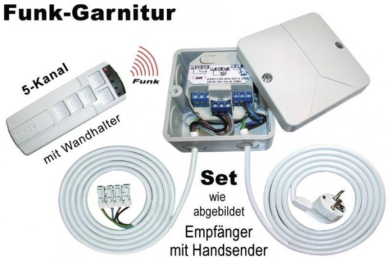 WTS - INTRO II - Funk-Empfänger, 434 MHz 8513-UPM