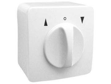 Universal Jalousieschalter für trockene Räume Auswahl als Knebel Taster oder Schalter