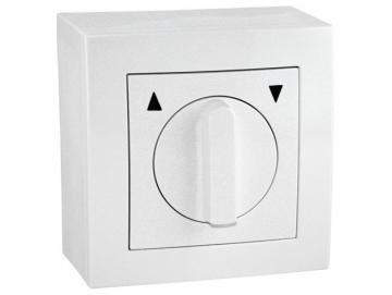 Universal Jalousieschalter für trockene Räume Auswahl als Knebel Taster oder Schalter Rahmen Lenora