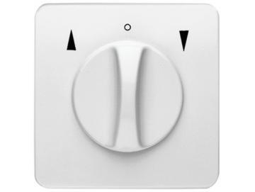 WTS - Standart Knebel-Schalter für trockene Räume Auswahl als Taster oder Schalter