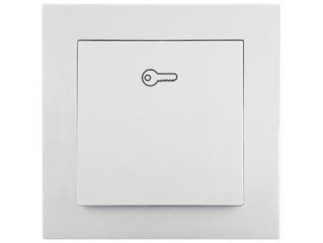 WTS - Einfach-Taster mit Flächenwippe (Impuls)UP Serie Lenora
