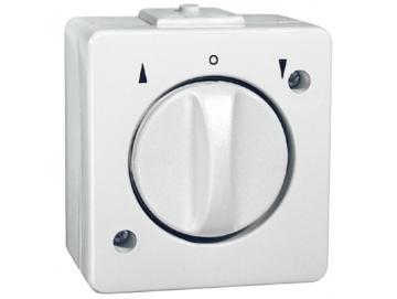 WTS - Knebelschalter AP wassergeschützt - IP 44 (für Rohrmotoren)