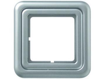WTS - Abdeckrahmen (galvanisiert) für Zeitschaltuhren DUOMATIC 50Kombi-Optik Regina