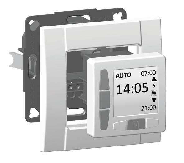 WTS - Zeitschaltuhr ROJAL M6083/50UP Einbau Ultraweiss oder Cremweiss erhältlich