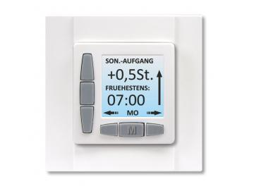 WTS - Zeitschaltuhr ROJAL SAT 6085/50UP Einbau Ultraweiss oder Cremweiss erhältlich