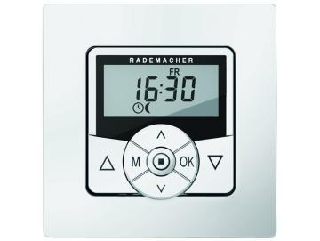 Rademacher - ZeitschaltuhrTroll StandardUltraweiss UP mit Standard-Rahmen