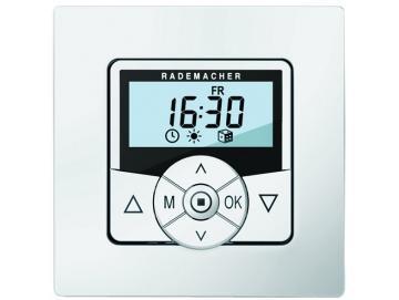 Rademacher - ZeitschaltuhrTroll ComfortUltraweiss UP mit Standard-Rahmen