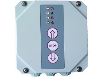 WTS - RTS-16 Rolltorsteuerung ohne Funkmodul zur Ansteuerung von 230V AC Rohrantrieben
