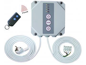 WTS - RTS-16 Set Rolltorsteuerung mit Funkmodul 868 MHz mit Handsender zur Ansteuerung von 230V AC Rohrantrieben
