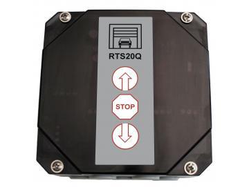 WTS - RTS-20Q-OF Rolltorsteuerung ohne Funkmodul, ohne Verkabelung, ohne Handsender 868 MHz zur Ansteuerung von 230V AC Rohrantrieben