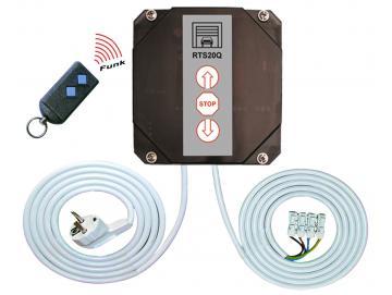 WTS - RTS-20Q-SET-S5 Rolltorsteuerung , verkabelt, mit eingelerntem Handsender Micro-Handsender S5Q-2K 868 MHz