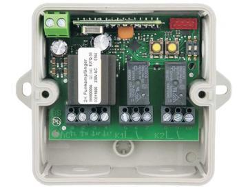 WTS - FE-27Q-2K Mini Funk-Empfänger, 230V, 2-Kanal (ohne Handsender)