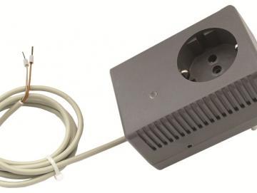 WTS - Steckdosen-Empfänger 1-Kanal : 868,30 MHz., zur Funk-Nachrüstung oder -Umrüstung bei älteren Garagentorantrieben